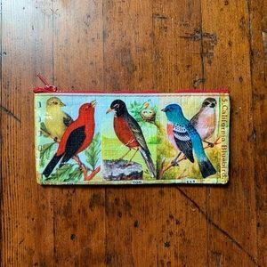 Other - Bluebird Pencil Case // red Zipper Pouch